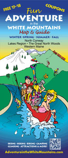 Adventure In The White Mountains Map & Guide