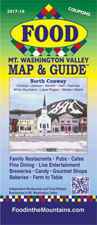 Food In The White Mountains Map & Guide