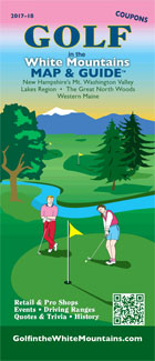 Golf In The White Mountains Map & Guide