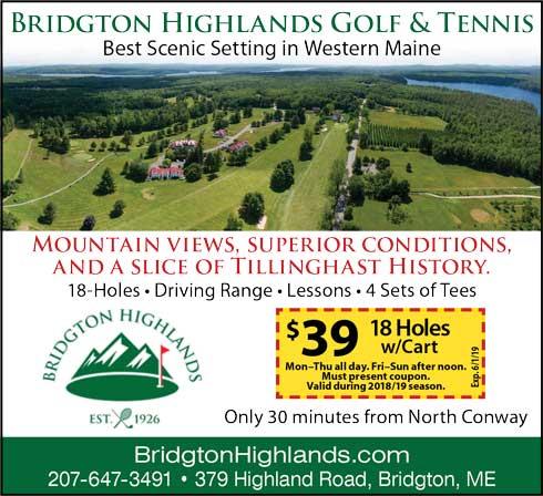 Bridgton Highlands Golf