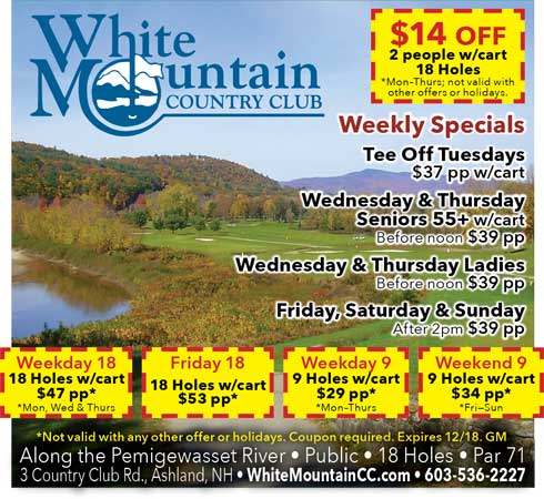 White Mountain CC