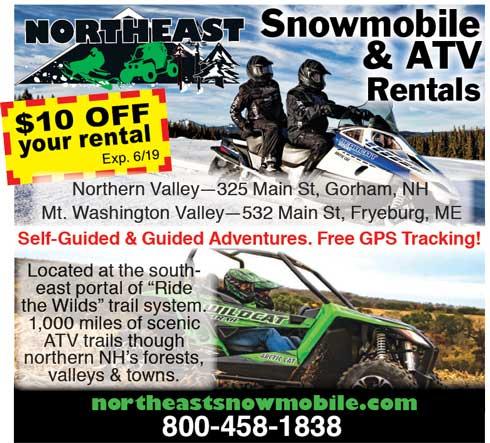 Northeast Snowmobile Rentals
