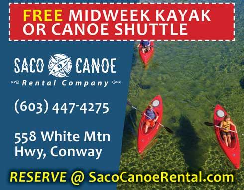 Saco Canoe Rentals